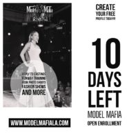 NOW CASTING RUNWAY MODELS FOR MULTIPLE SHOWS
