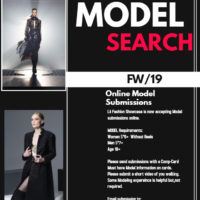 MODEL CALL FOR FASHION WEEK LA & NY