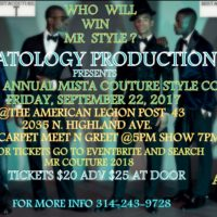 Maatology Productions Presents 9th Annual Mista Couture Style Contest