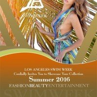 Swim Fashion Show Invitation for buyers only