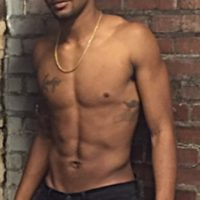 Masculine, Strong and Tight Physique, 6'3 Brown Skin Male Model