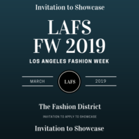 DESIGNERS WANTED FOR LA FASHION SHOWCASE FW 2019